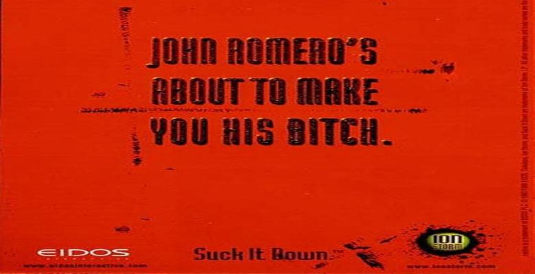 Daikatana Poster Romero