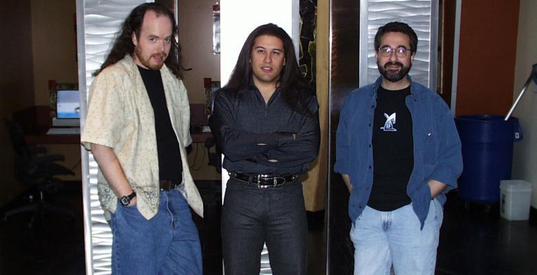 John Romero and Warren Spector
