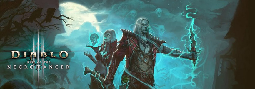 Photo of DIABLO III – RISE OF THE NECROMANCER PACK