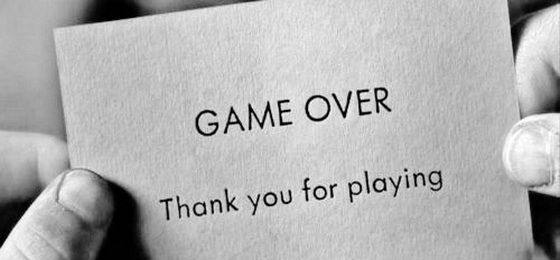 Photo of April Fools' : Game Over: Ευχαριστούμε που μας διαβάζετε, αλλά…