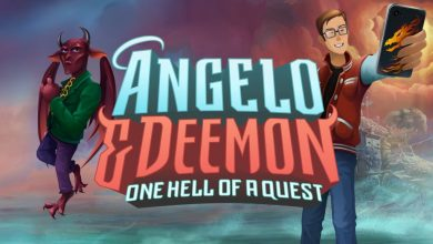 Photo of ANGELO AND DEEMON: One Hell of a Quest