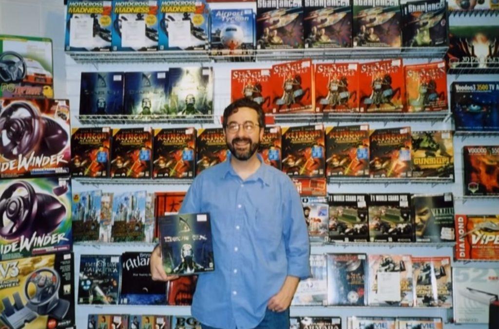 Warren Spector at Deus Ex Release Day