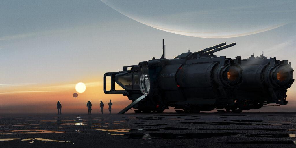 New Mass Effect Vehicles