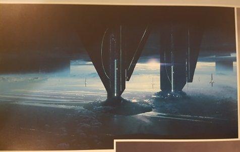 Mass Effect Teaser Artwork - Remnant Ruins