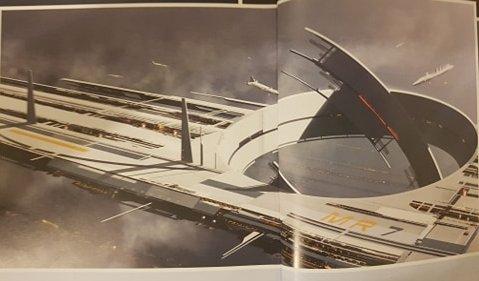 Mass Effect Teaser Artwork - Mass Relay Construction