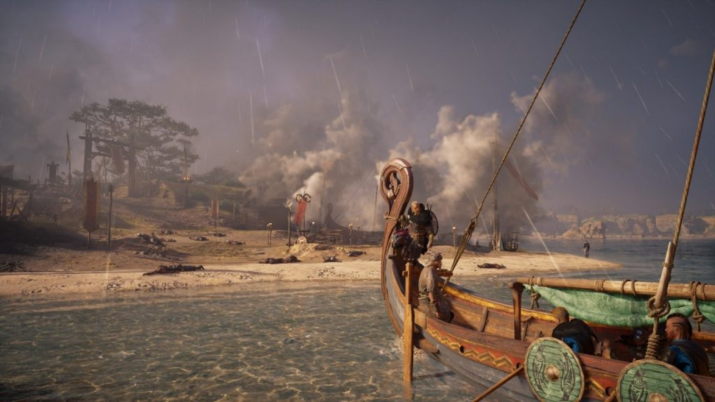 Assassin's Creed Valhalla Shores in Flames