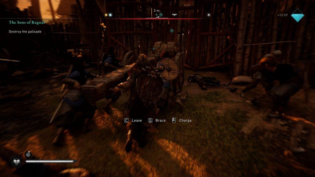 Assassin's Creed Valhalla Assault batterim ram