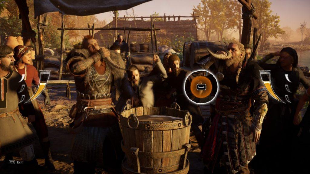 Assassin's Creed Valhalla Drinking Minigame