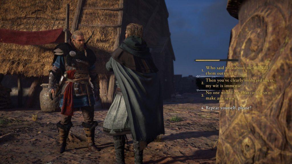 Assassin's Creed Valhalla Flyting