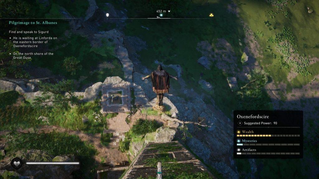 Assassin's Creed Valhalla Leap of faith
