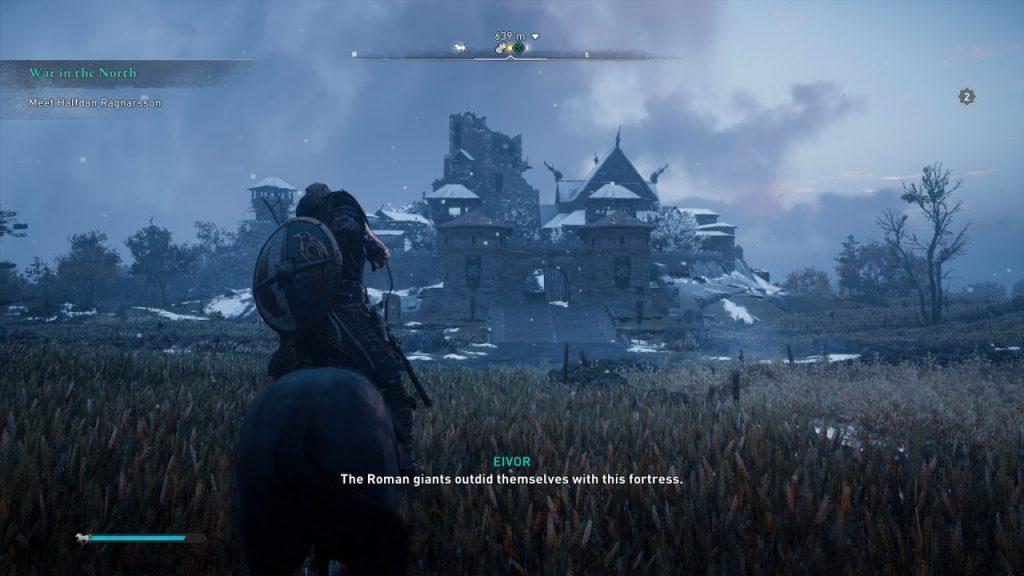 Assassin's Creed Valhalla Roman Castle