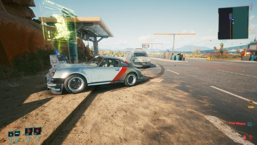 Cyberpunk 2077 Car Driving AI