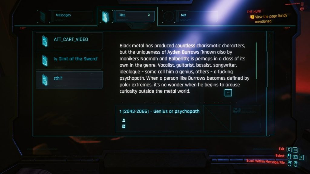 Cyberpunk 2077 Black Metal